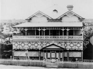 "Brighton Road's ""Franklin Villa"" circa 1928"