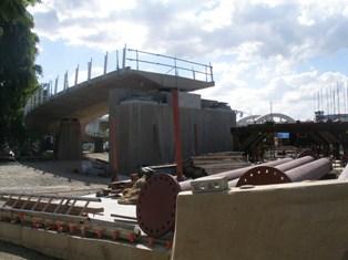 Kurilpa Bridge progress