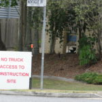 No truck access