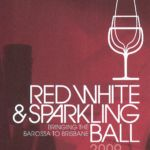 Red White and Sparkling Ball