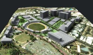 draft planning for the RNA showgrounds redevelopment