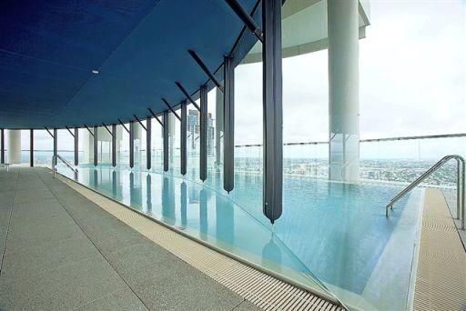 Riparian Plaza pool