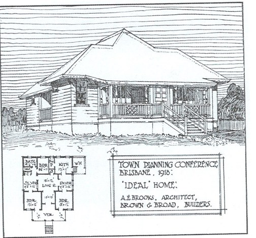 history of Brisbane housing