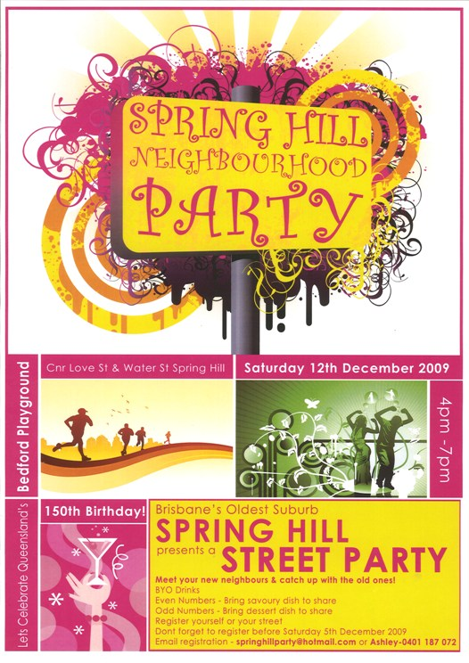 Spring Hill Street Party
