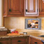 kitchen and televisions
