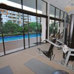 Koko Apartments' gymnasium