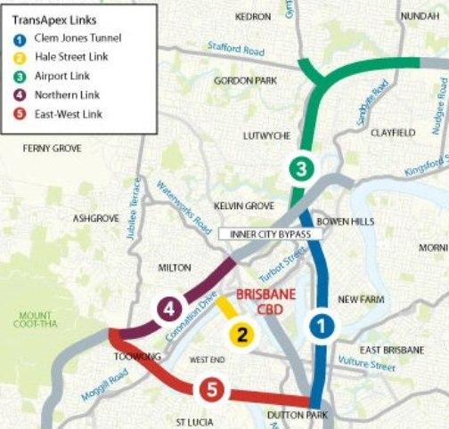 The TransApex plan for Brisbane