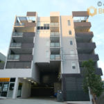 The 6 storey Greenwich Apartment building in South Brisbane
