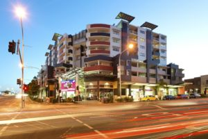 Gabba Central Twilight - Woolloongabba