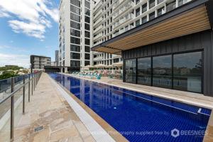 The stunning Michael Klim-designed pool