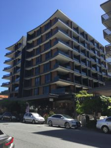 Street view of Akira Apartments - Woolloongabba