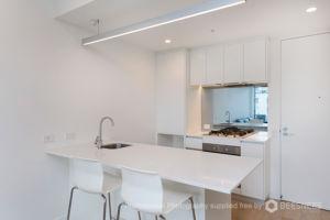 A typical Johnson Apartments kitchen
