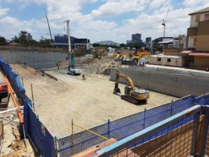 West Village West End construction