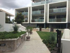 Garden area of Vertice Apartments