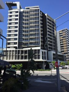 Street View of One South City Apartments - Woolloongabba